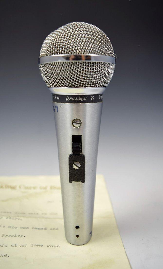 Elvis Presley's Personal Microphone - 2