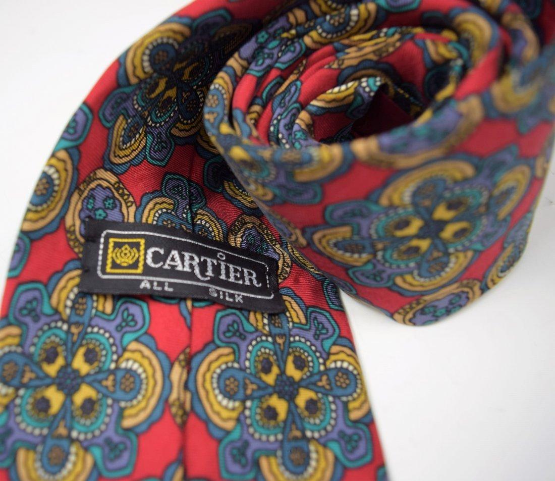 Cartier Silk Tie - 2