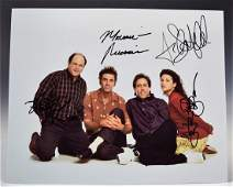 Seinfeld Cast Signed Photograph