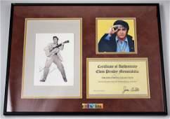Elvis Presley Autograph Photo