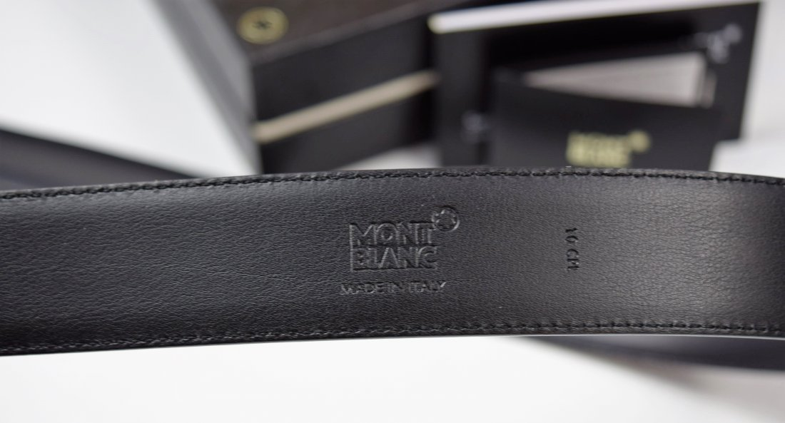Montblanc Leather Belt - 4