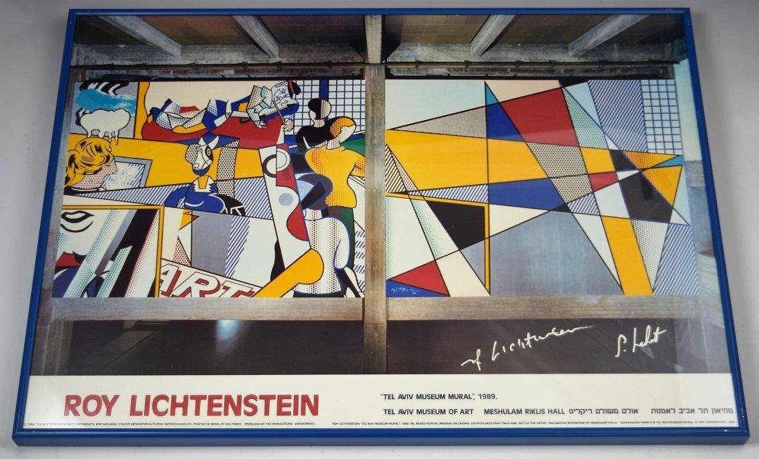 Roy Lichtenstein Signed