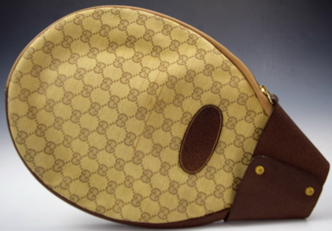 Vintage Gucci Tennis Racket Cover