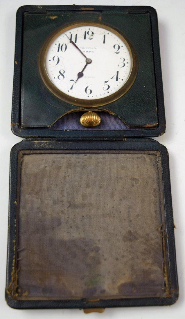 Vintage Tiffany & Co Travel Clock - 3