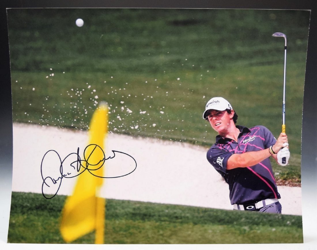 Rory Mcilroy Signed Photograph