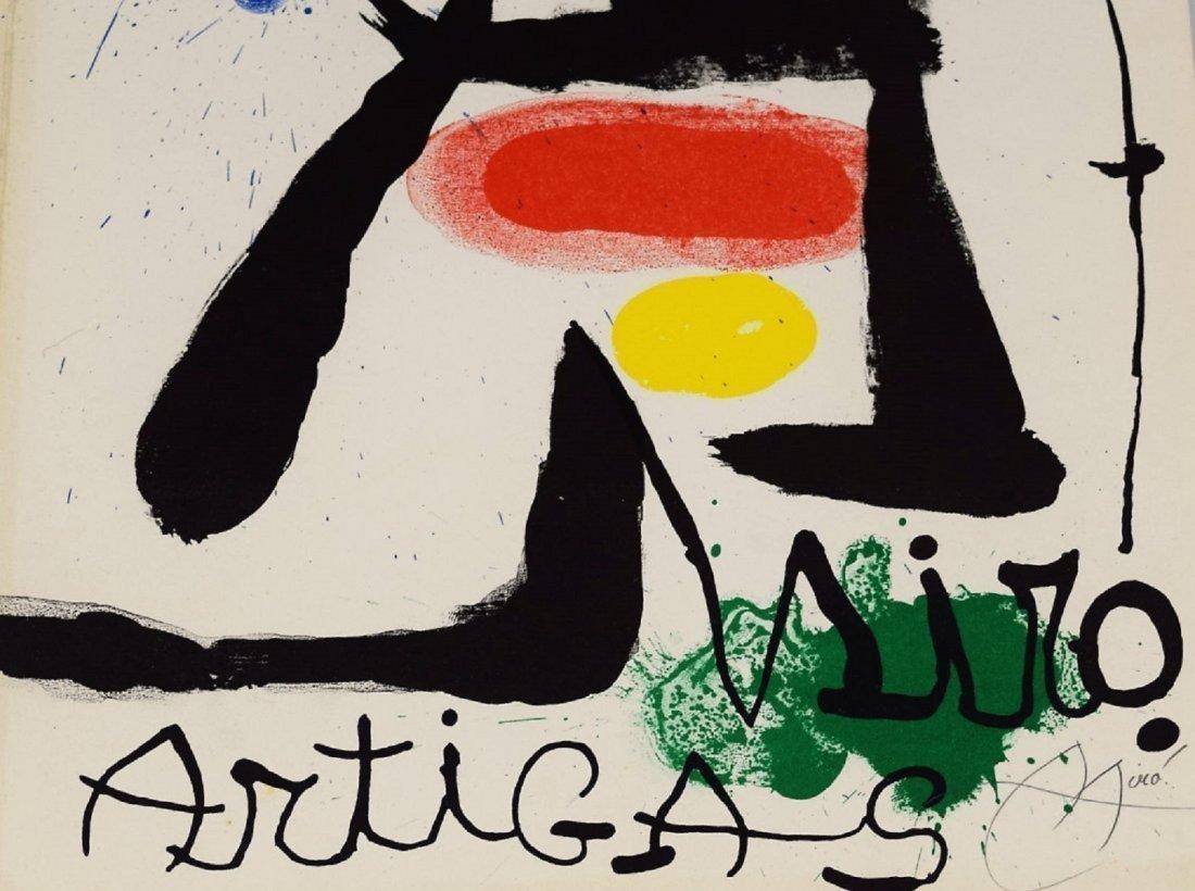 Joan Miro Signed Lithograph - 2