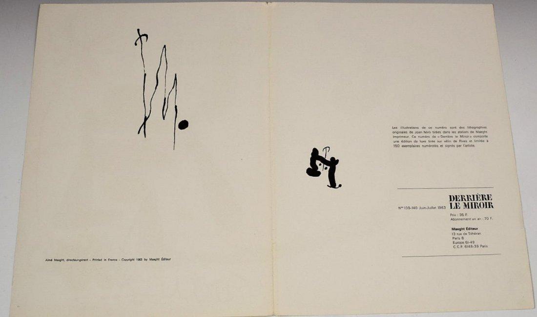 Joan Miro Signed Lithograph - 3