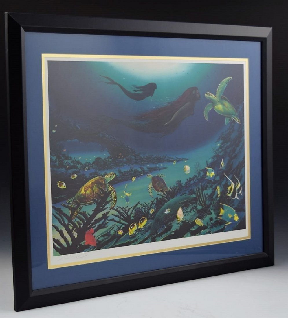 Robert Wyland Signed Lithograph