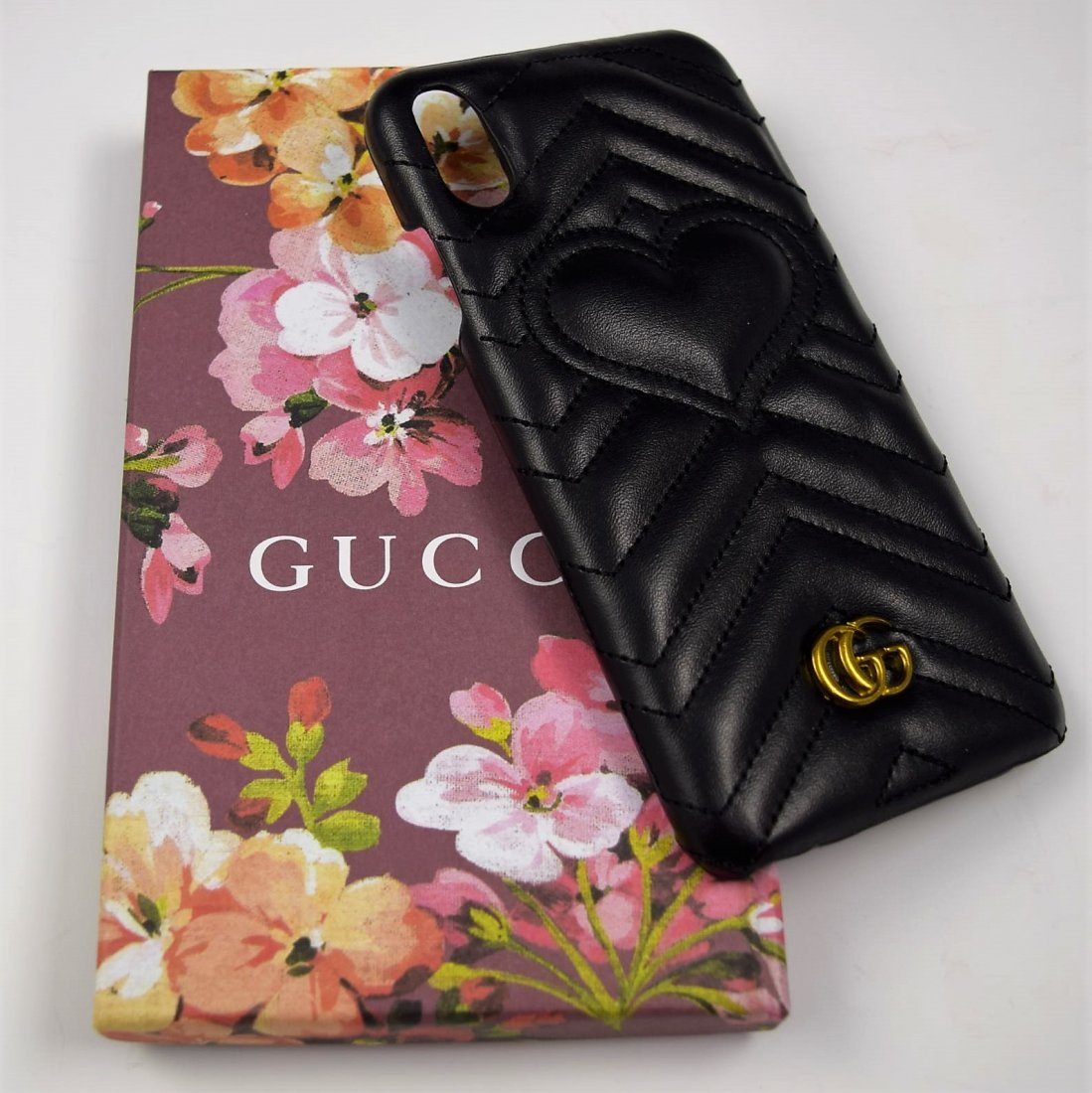Gucci Leather Phone Case