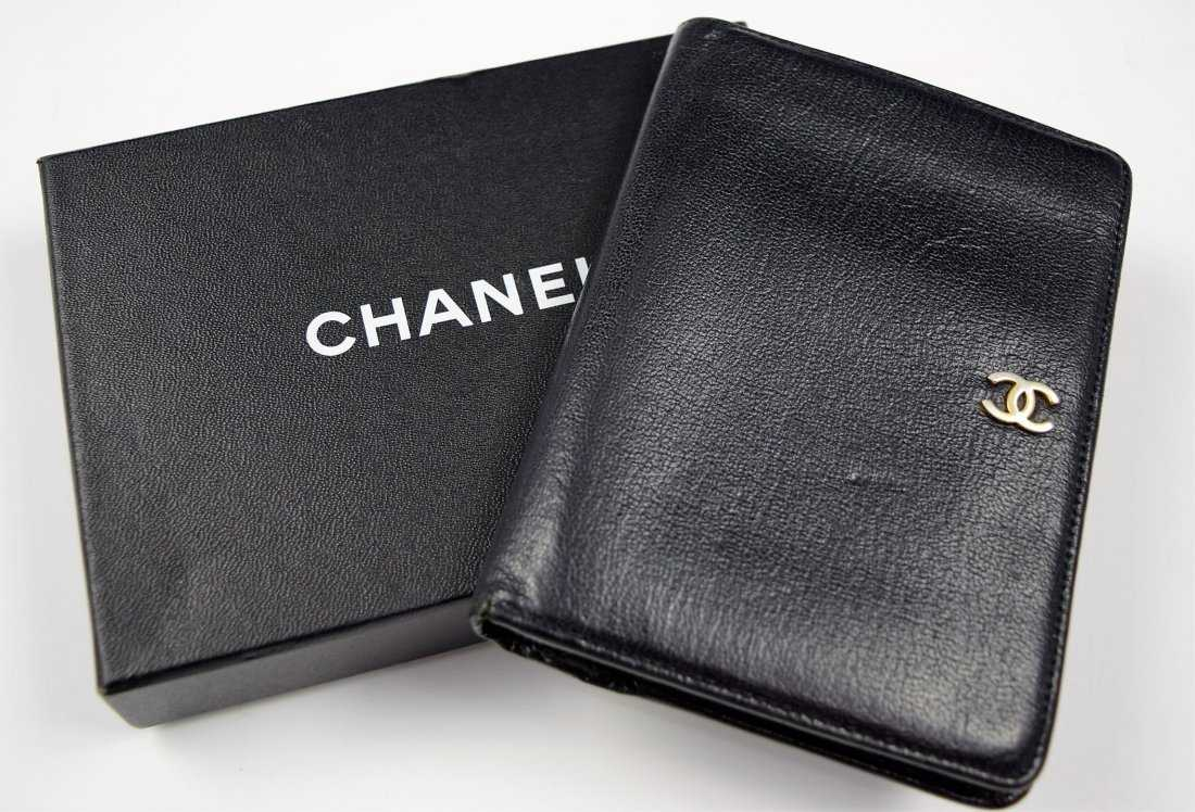 3a17ea5b57ccc8 Chanel Leather Wallet