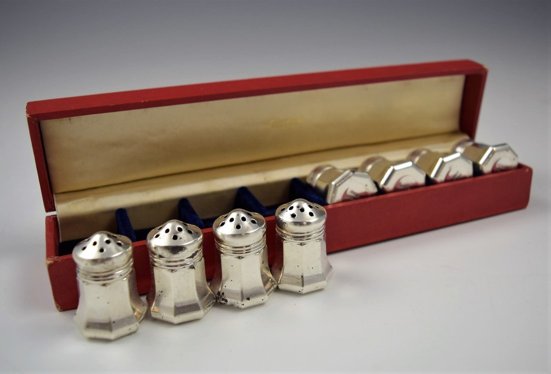 Cartier Sterling Silver Salt and Pepper Set