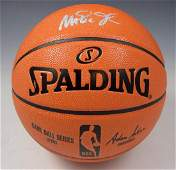 Magic Johnson Signed Basketball