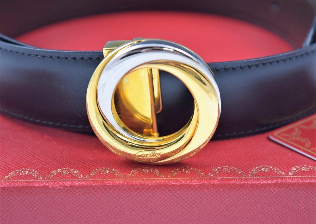 Cartier Leather Belt - 2