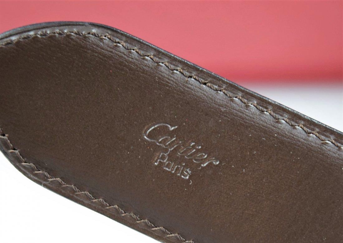 Cartier Leather Belt - 4