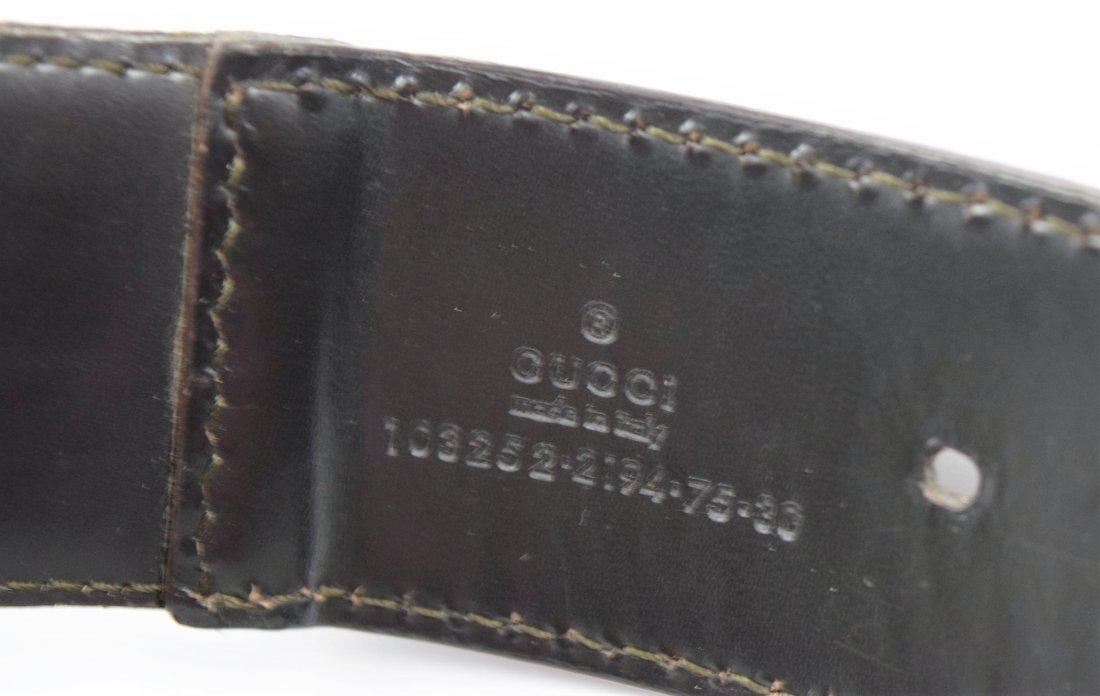 Vintage Gucci Belt - 3