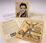Elvis Presley Autograph Photograph 1958