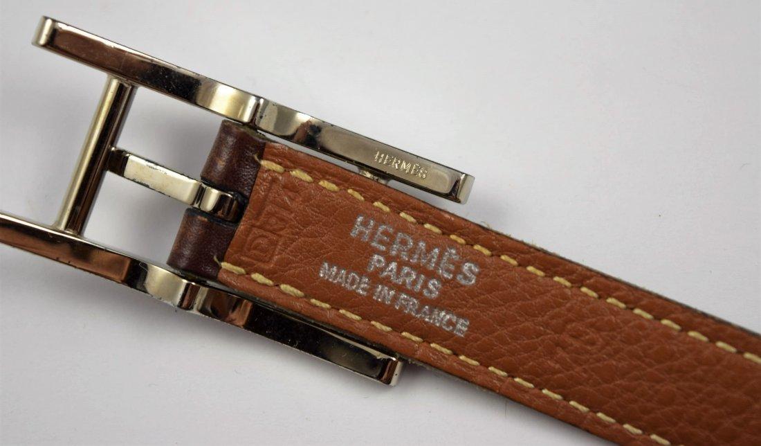 Vintage Hermes Leather Belt - 3