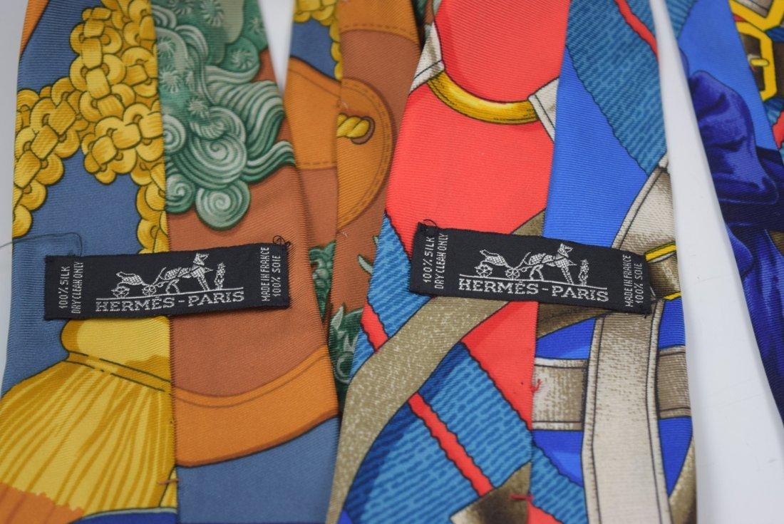 Hermes Silk Ties - 3