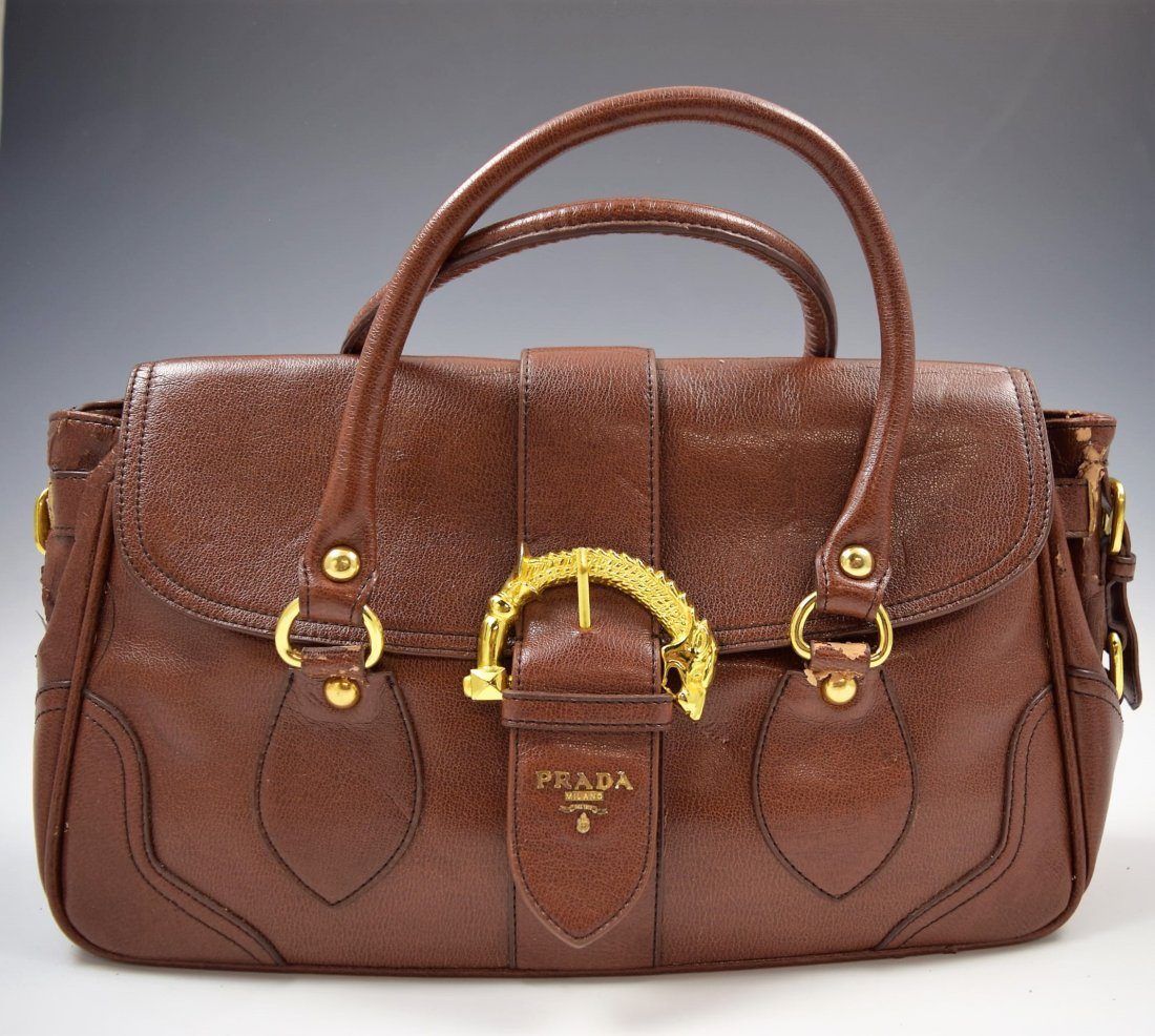 b523f18f Prada Leather Handbag - Jun 06, 2019 | Christiana Auction Gallery in DE