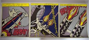 Roy Lichtenstein, As I Open Fire