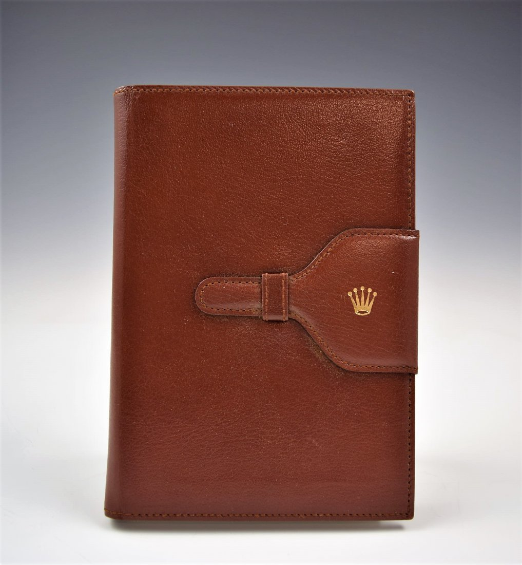 Rolex Leather Notebook