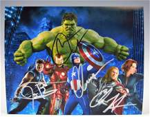 Avengers Signed Photograph
