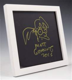 Matt Groening Drawing