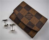 Louis Vuitton Sterling Silver Cufflinks