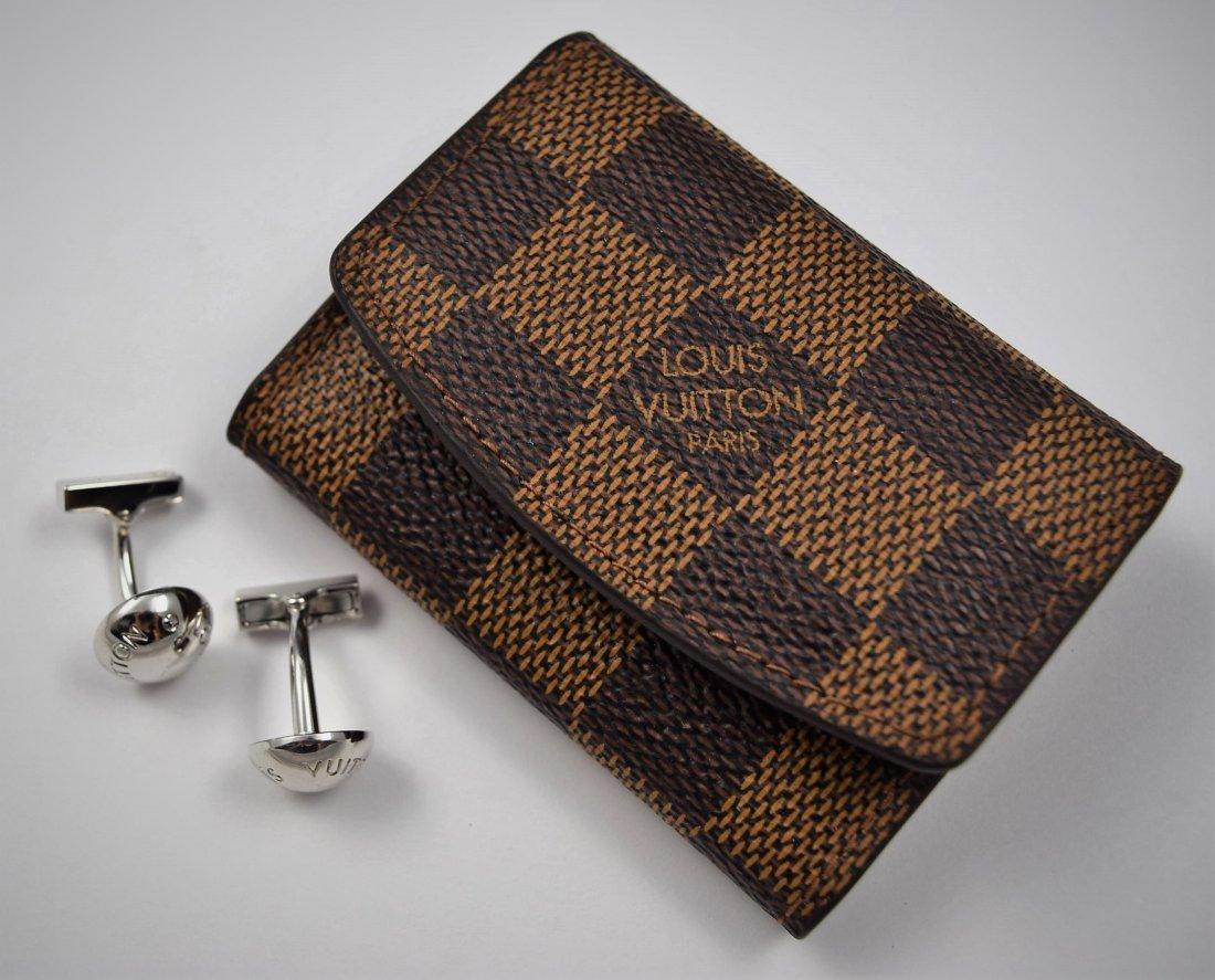 Louis Vuitton Sterling Silver Cufflinks