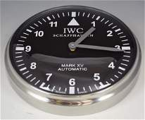 IWC Showroom Dealer Clock