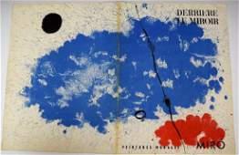 Joan Miro Signed Lithograph