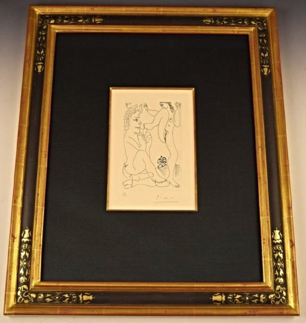 Pablo Picasso, Signed & Numbered Etching