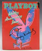 Andy Warhol Signed Magazine