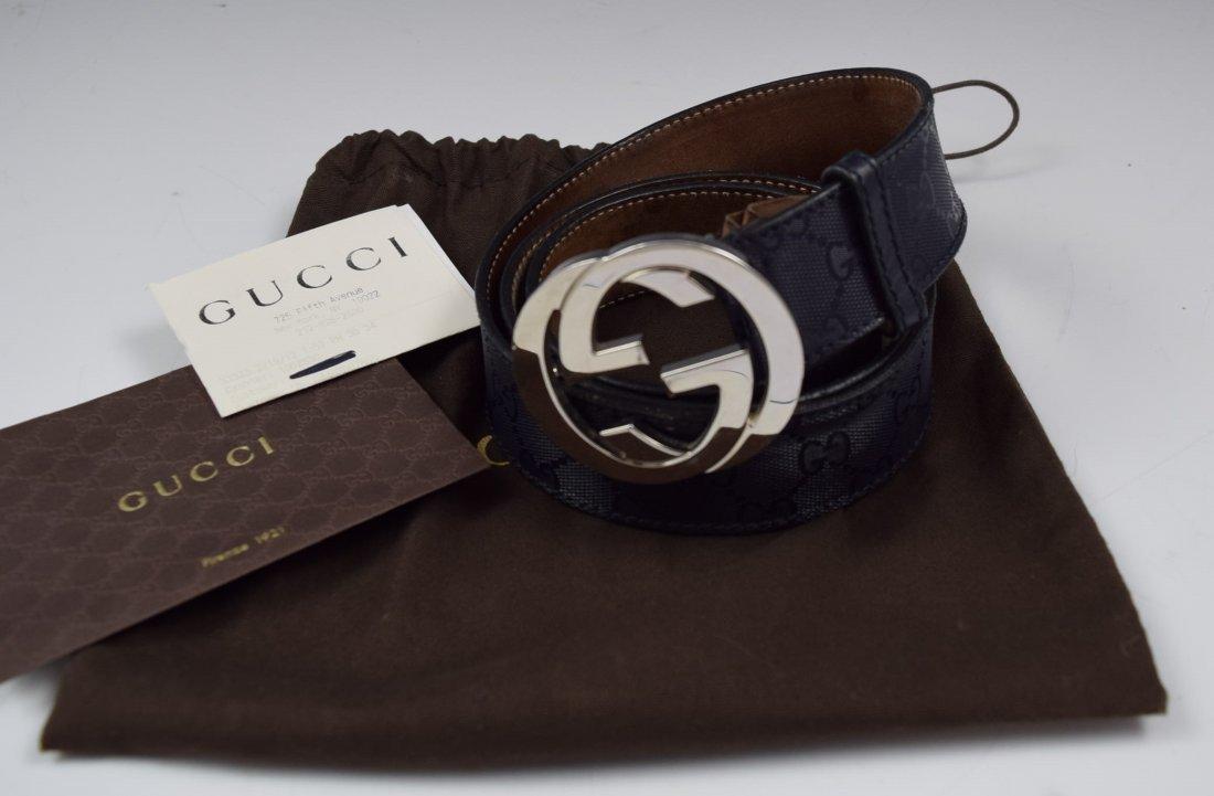 Gucci Leather Men's Belt