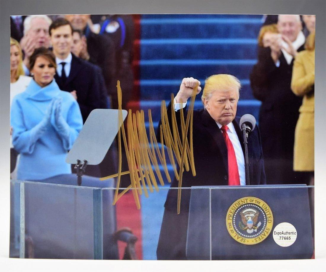 Donald Trump Signed Photograph