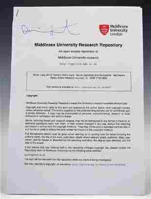 Damien Hirst Signed