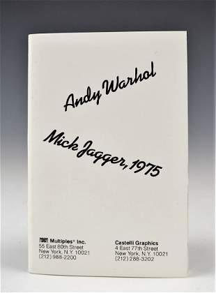 Andy Warhol Mick Jagger Portfolio Set