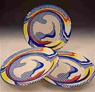 Roy Lichtenstein Plates