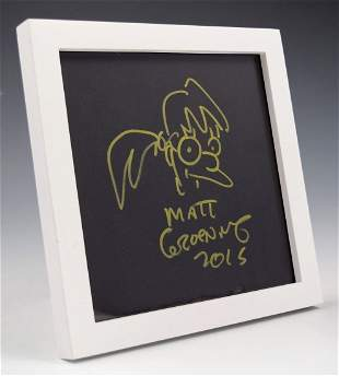 Matt Groening Drawing