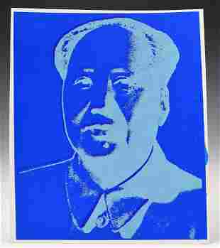 Andy Warhol Mao Print