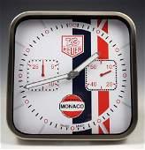 Tag Heuer Showroom Dealer Clock