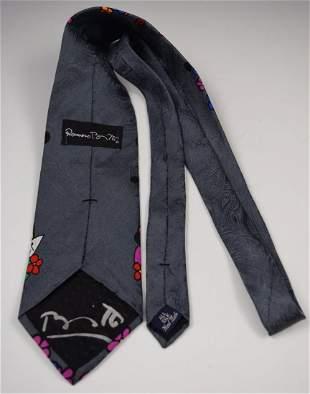 Romero Britto Signed Tie