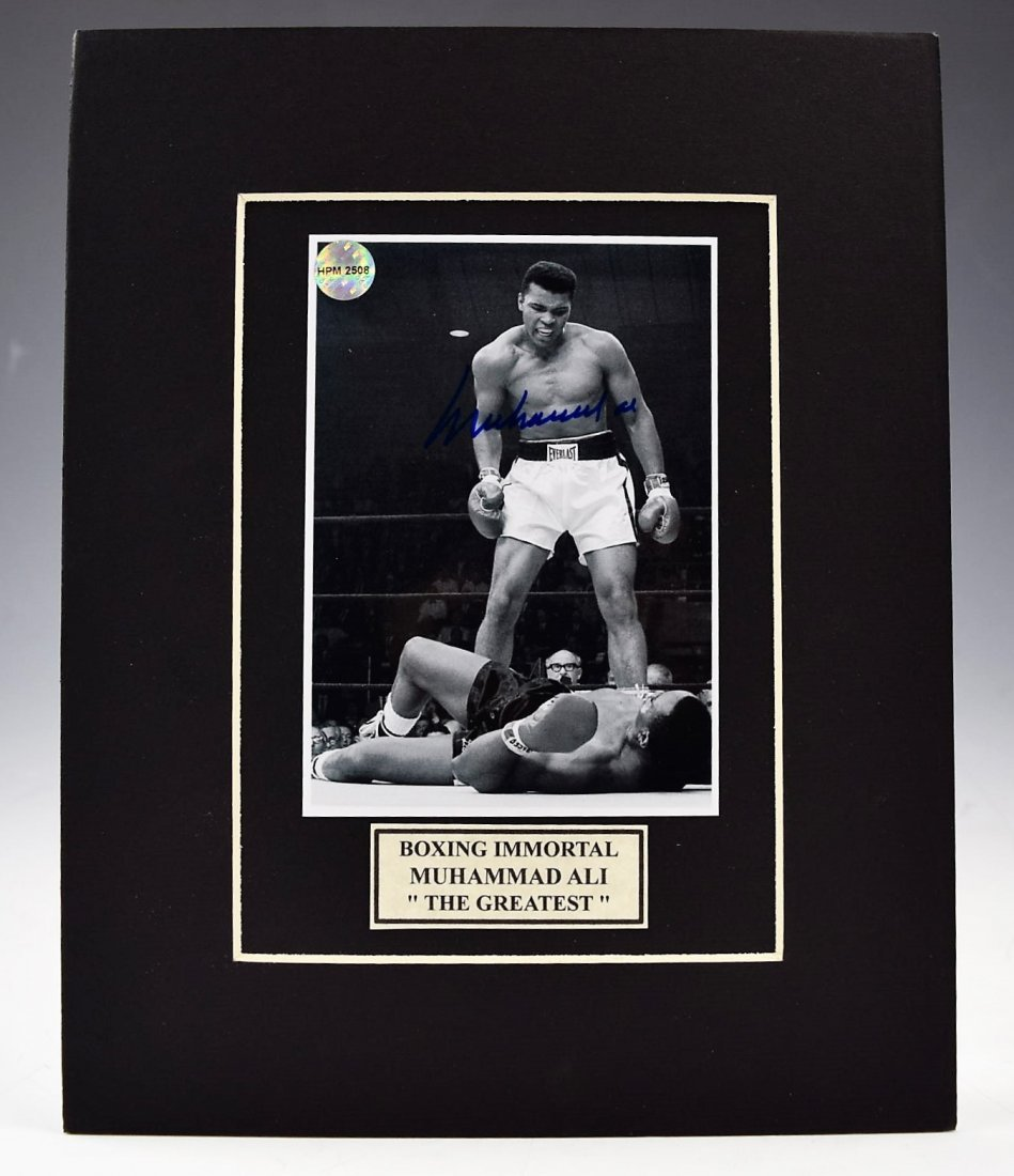 Muhammad Ali Signed Photograph