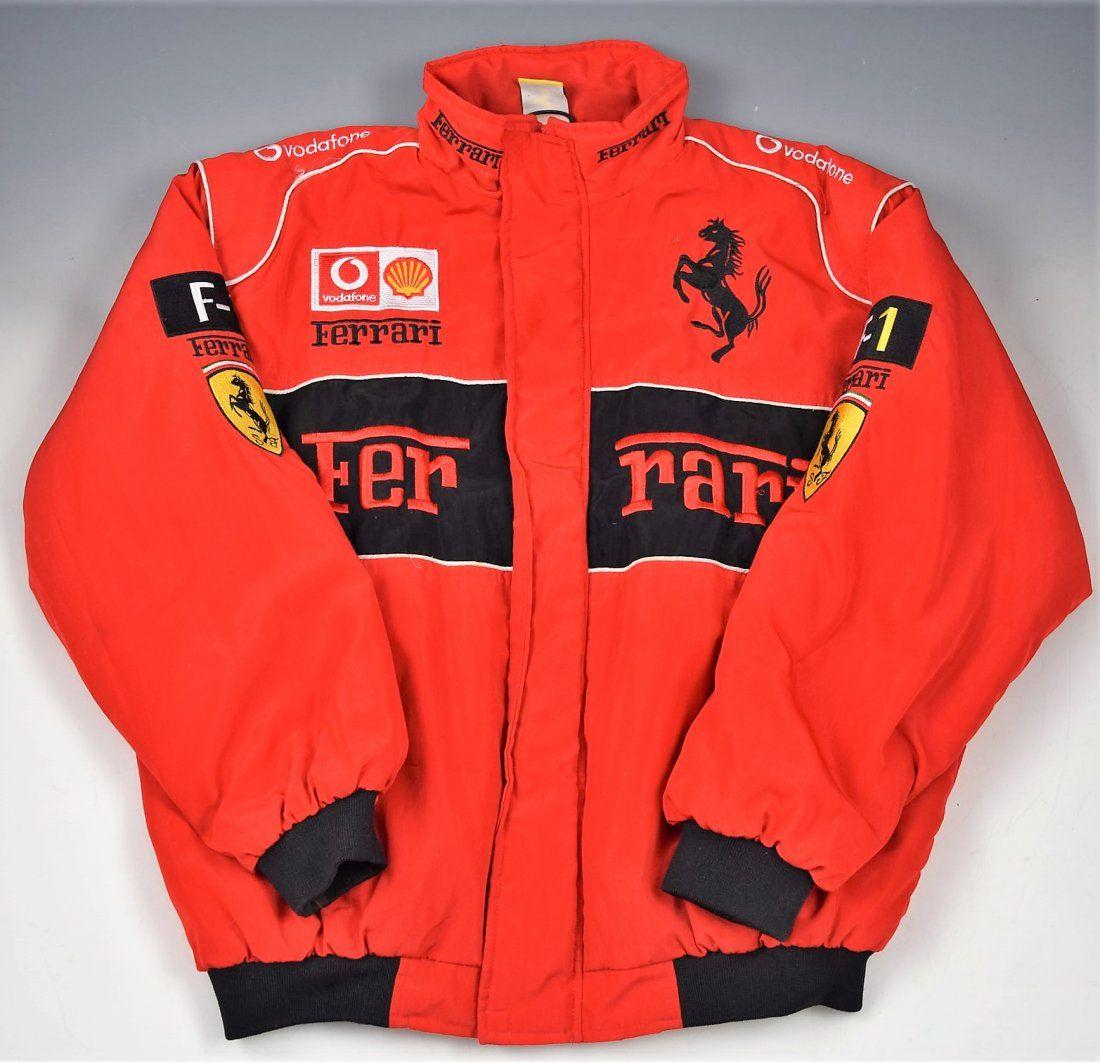 Vintage Ferrari Racing Jacket Mar 11 2020 Christiana Auction Gallery In De