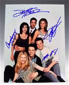 Friends Cast Signed Photograph