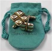 Tiffany  Co Sterling Silver Cufflinks