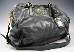Vintage Prada Leather Handbag