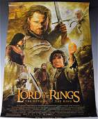 Lord of the Rings Cast Signed Movie Poster