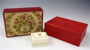 Vintage Rolex Watch Boxes