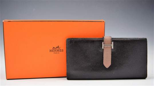 Vintage Hermes Leather Wallet